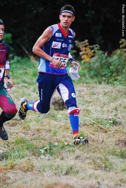 PR:n Francois Gonon on maailman 5. nopein keskimatkan suunnistaja